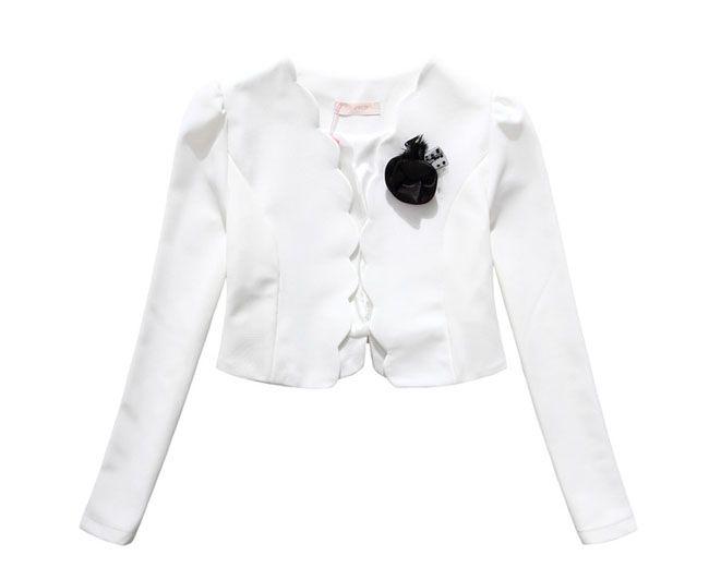 Valkoinen bolero   Naisten vaatteet netistä - Heidi Elise - Juhlamekot, iltapuvut