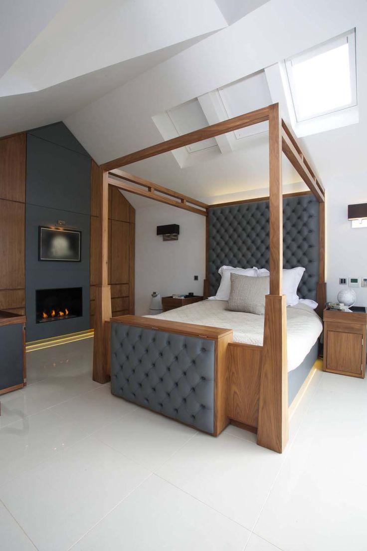 1000 id es sur le th me chambre pour homme sur pinterest chambre d 39 homm - Lit fer forge blanc 1 personne ...