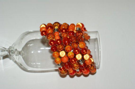 FREE EARRINGS   Spiral bracelet   by LesBijouxLibellule on Etsy