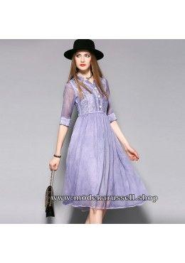 Elegantes Kleid Abendkleid Urte in Flieder