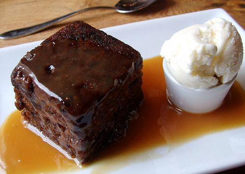 I discovered sticky toffee pudding while traveling in Scotland. Once I tried it, I ordered it for dessert at every restaurant there after. It is the most sumptuous sweet hot/cold dessert. I have yet to make it myself. Definitely next on my list.