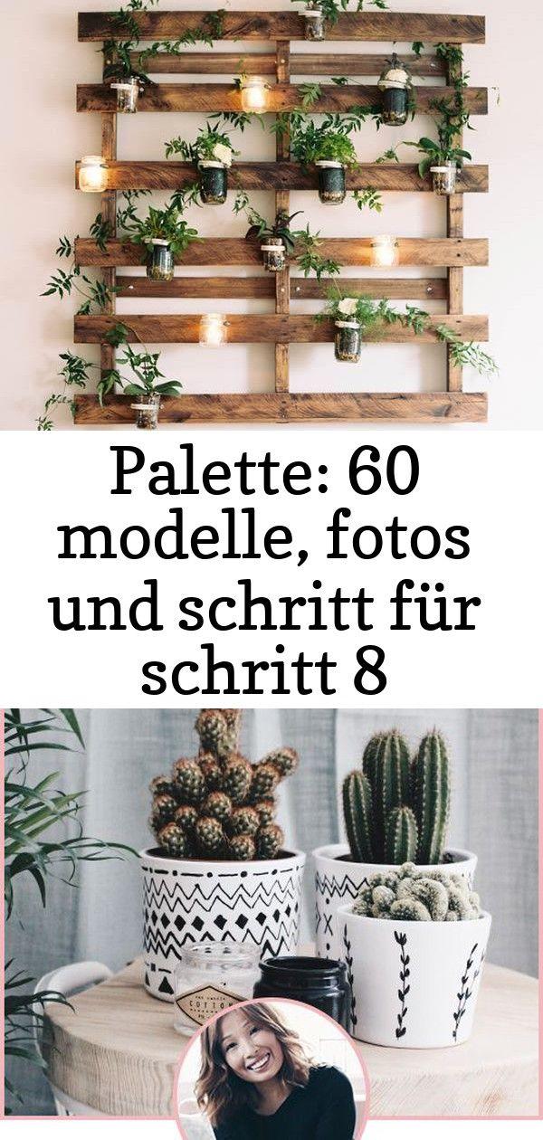 Palette 60 Modelle Fotos Und Schritt Fur Schritt Bauen Europalettenbauen Volvo Pallet Bett Mobel Diy Palettenmobel Sta Ladder Decor Decor Home Decor