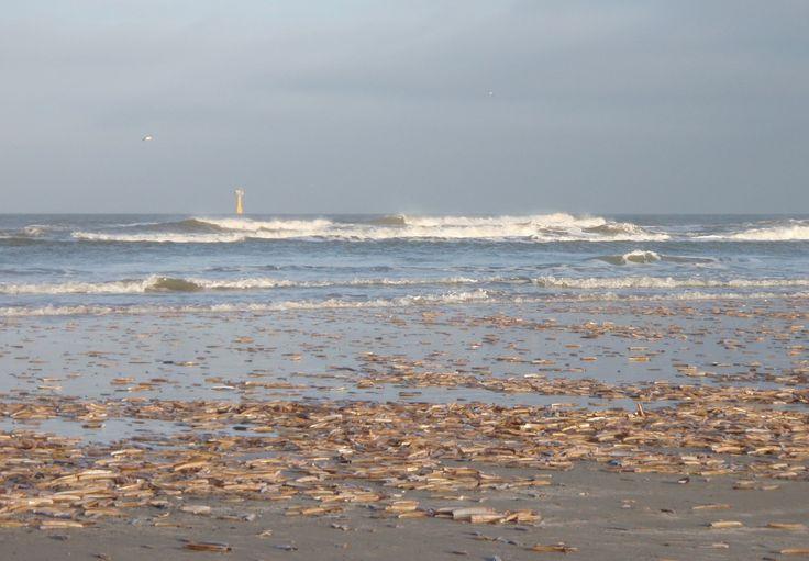 rust vinden in het geluid van de golven en het oneindige zicht op  het strand van Terschelling.