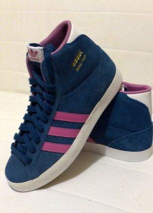 Kupuj mé předměty na #vinted http://www.vinted.cz/damske-boty/tenisky/15400326-modre-kotnikove-streetstyle-tenisky-adidas-s-ruzovymi-prouzky
