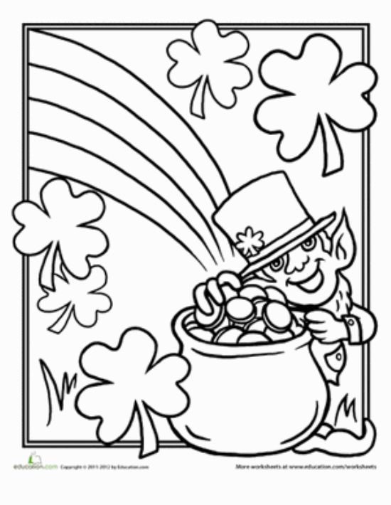 12 st patrick day printable coloring pages for adults amp kids - St Patrick Coloring Page Catholic