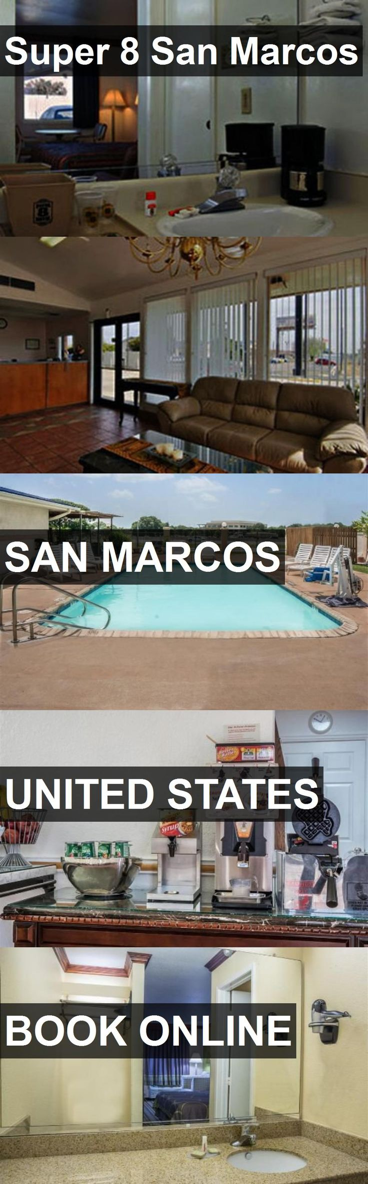 Hotel Super 8 San Marcos in San Marcos, United States. For more information, photos, reviews and best prices please follow the link. #UnitedStates #SanMarcos #travel #vacation #hotel