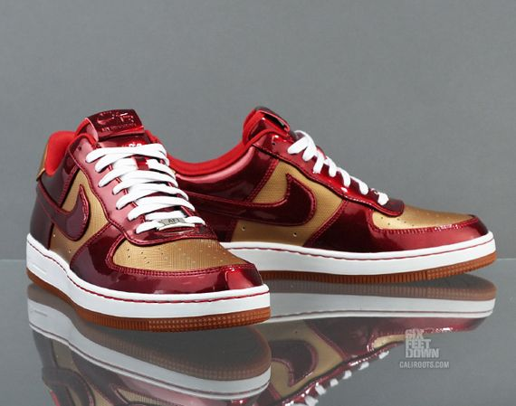 Iron Man Nike Air Force 1