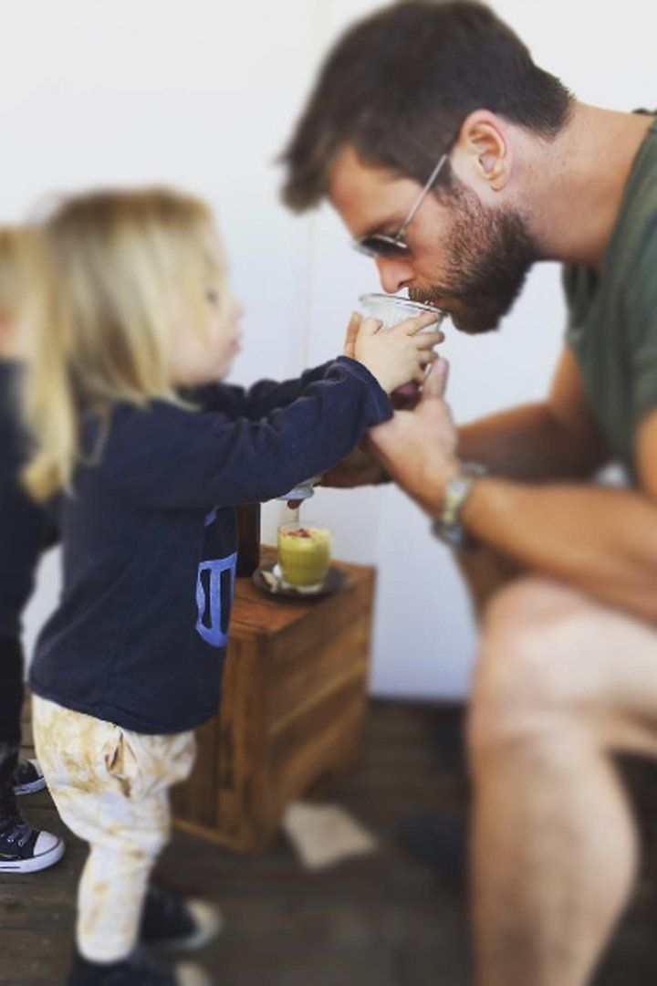 Pin for Later: 13 Pictures of Chris Hemsworth and His Kids That Might Make Your Heart Explode