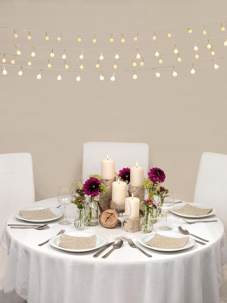 Die besten 25 landhochzeit dekoration ideen auf pinterest - Tischdekoration hochzeit ideen ...