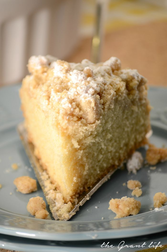 New York style coffee cake!