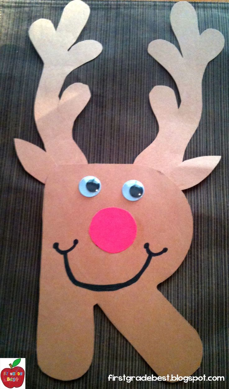 Christmas Kids Craft | Make a Rudolph the Red-Nosed Reindeer Craft| Make a Rudolph the Red-Nosed Reindeer Craft out of paper and add dots of snow. Description from pinterest.com. I searched for this on bing.com/images