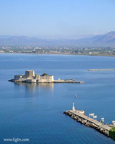 #Bourtzi Fortress, #Nafplio - #Greece