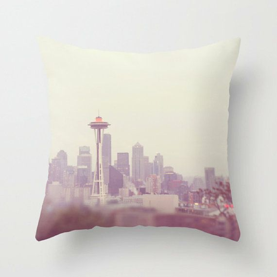 Seattle pillow cover Pacific Northwest