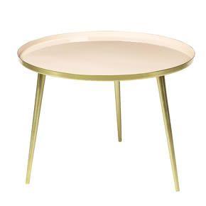 Table Jelva Rose Nude et Or L - Broste Copenhagen - The Cool Republic