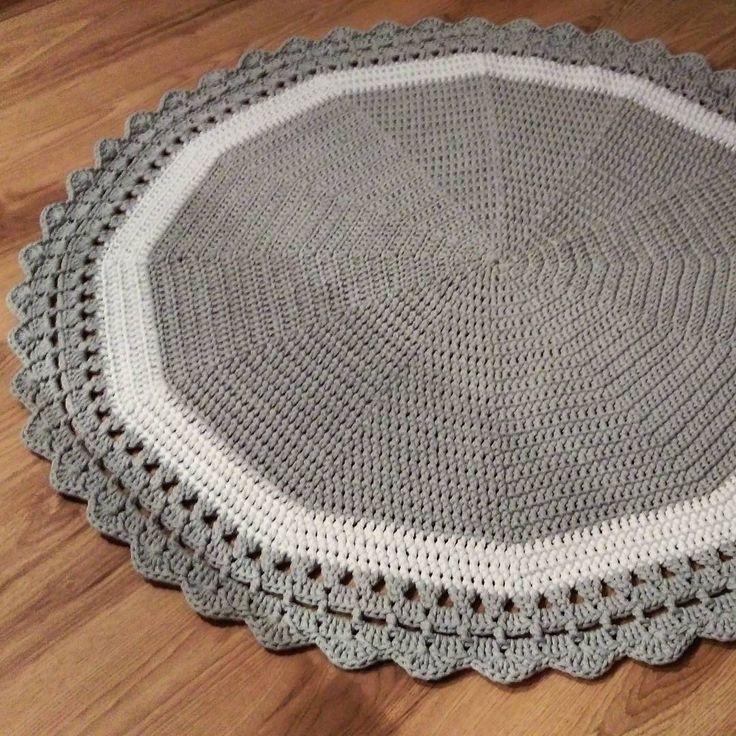 ❤❤❤ #crochet #crochetaddict #crochetrug #crochetcarpet #carpet #cottoncord #szydełko #dywanzesznurka #sznurekbawełniany #handmade #szydełkowanie #rekodzielo #recznarobota #dzierganie #kidsroom #forkids