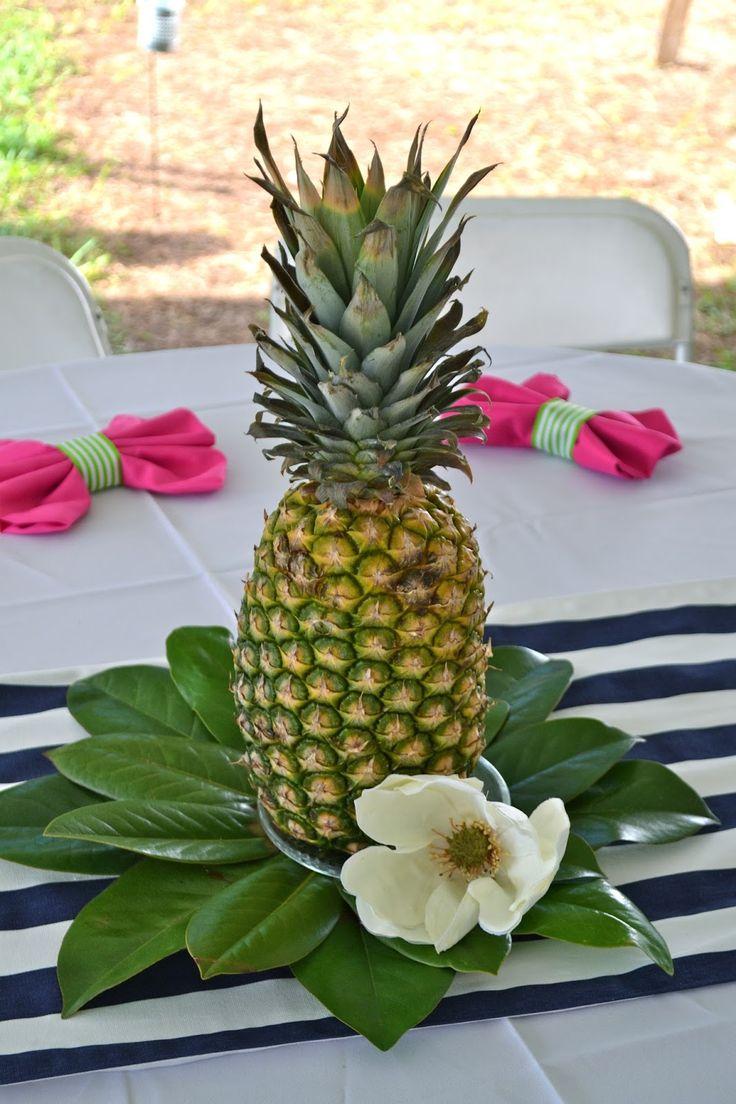 Best ideas about pineapple centerpiece on pinterest