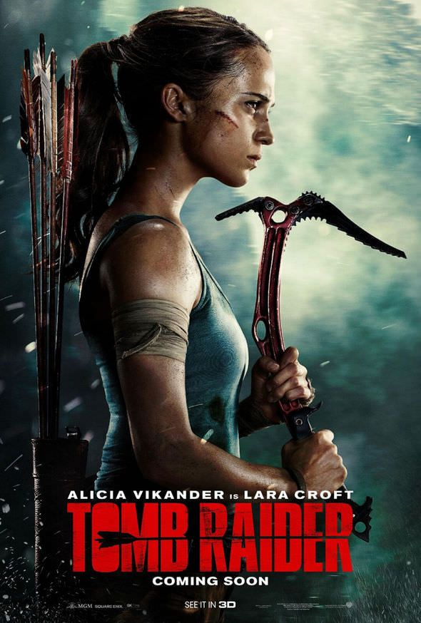 Tomb Raider 2018 English 720p Hdrip X264 950mb Esubs Watch Full