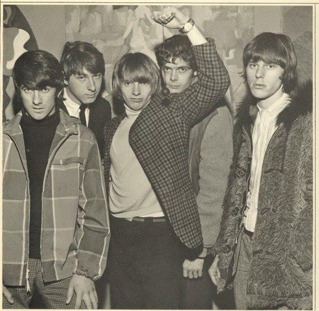 The Yardbirds in 1966