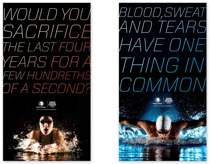 Olympic Swim Trials, designed by Justin Schafer