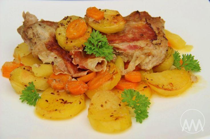 V kuchyni vždy otevřeno ...: Telecí pečené s mrkví a zázvorem