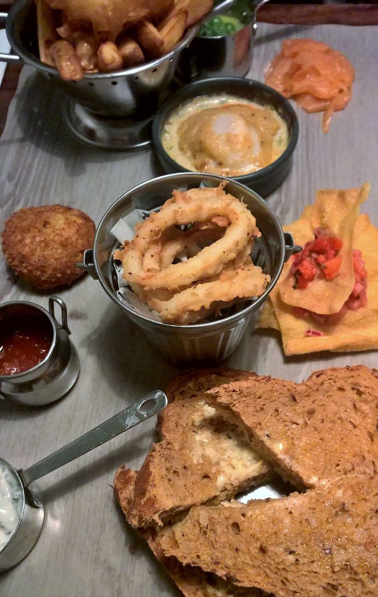 Sharing Platter. Mud Crab Diner, Sheffield