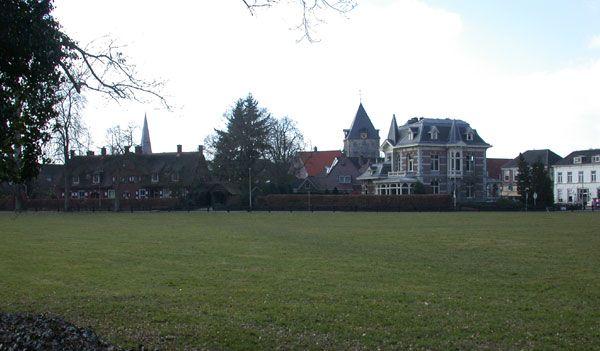 Stadsweiden van Delden. De Cramersweide is de plek voor bijvoorbeeld de kermis.