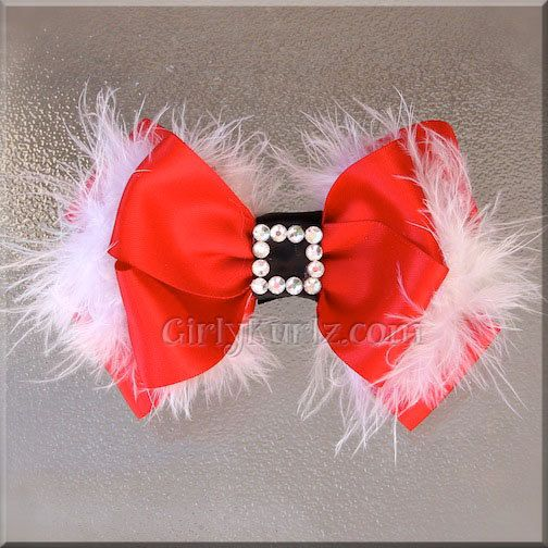 Santa Baby Hair Bow. $10.95, via Etsy.