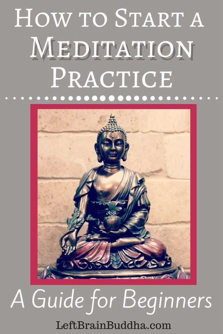 How to Start a Meditation Practice #meditationforhealth