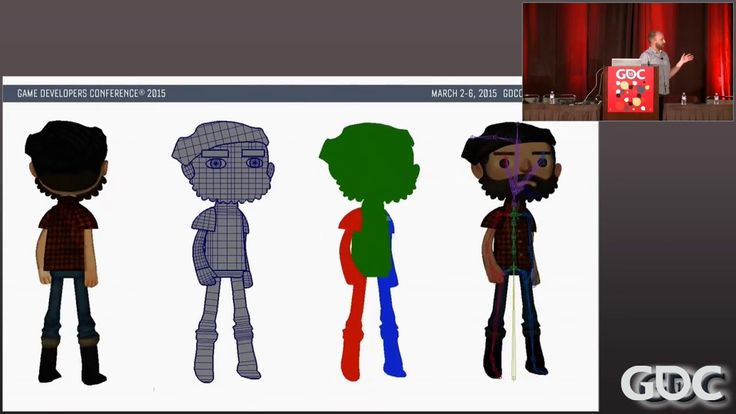 """In this 2015 session, Double Fine's Raymond Crook presents detailed walkthrough of creating what Double Fine terms """"2.5D animation"""" for Broken Age and the an..."""