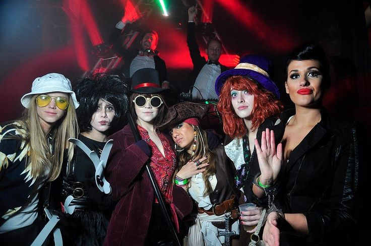 Johnny Depp Characters / 55 Girl Group Halloween Costumes | POPSUGAR Love & Sex