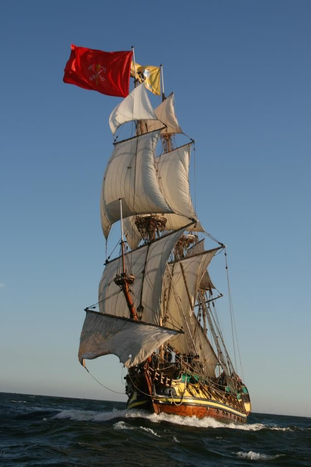 The Historic Sail Training Ship 'Shtandart'