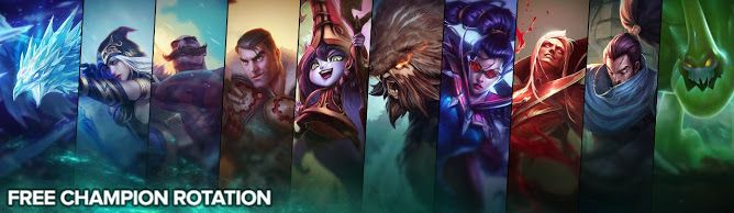 cool Free Champion Rotation, Week of March 28th
