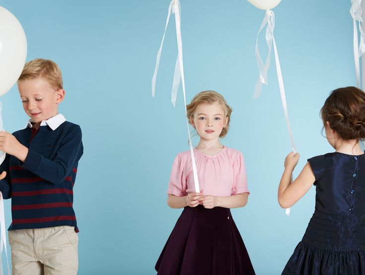 Beautifully crafted childrenswear by Paul Costelloe Living Occasion, designed exclusively for Dunnes Stores
