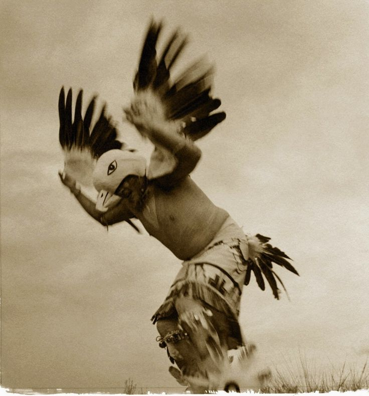 Edward S. Curtis. Eagle Ceremony. 1905.