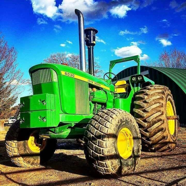 John Deere 6030 #deere #tractor