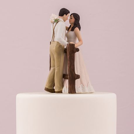 la figurine mariage rustique - Figurine Mariage Humoristique Pas Cher