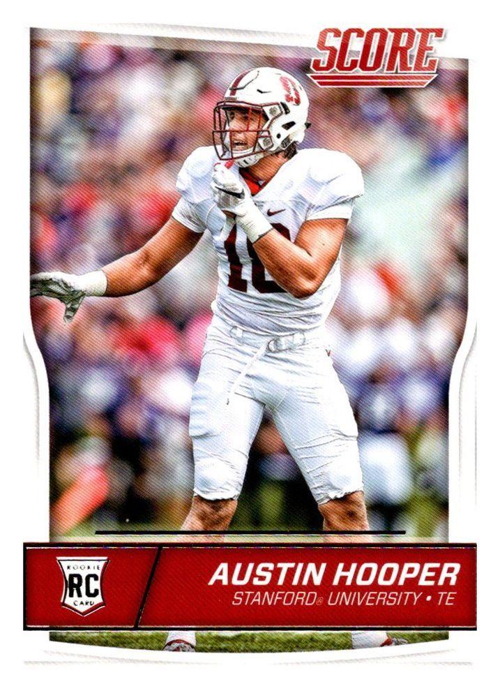 2016 Score Austin Hooper Rookie Card Atlanta Falcons #AtlantaFalcons
