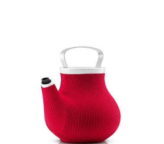 Eva Solo - Imbryk / dzbanek My Big Tea. czerwony, oryginalny prezent, pomysł na prezent, herbata do herbaty na herbatę, parzenie herbaty