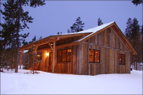 Rustic Cabin Plans and Drawings, The Telluride