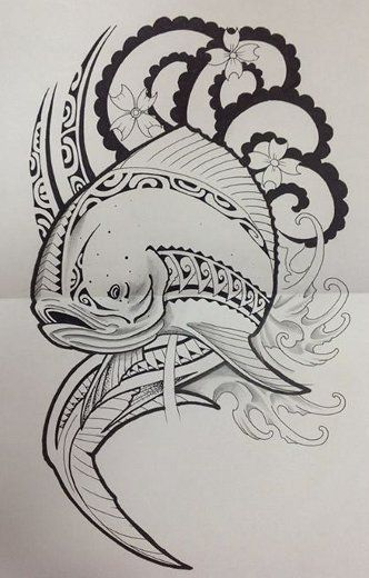 24 best images about art polynesien tatoo on pinterest - Dessin espadon ...