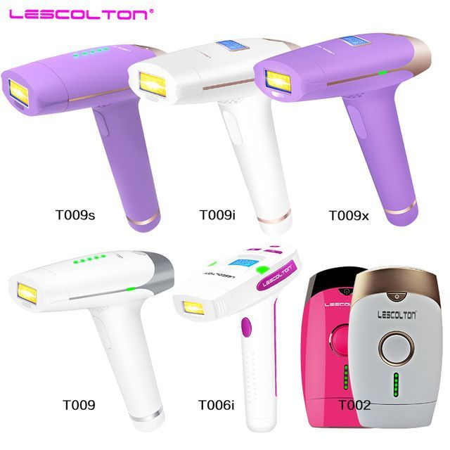 Lescolton Series Original Factory Ipl Epilator 2in1 Laser Hair