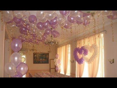 украшение банкетного зала шарами на свадьбу Алматы