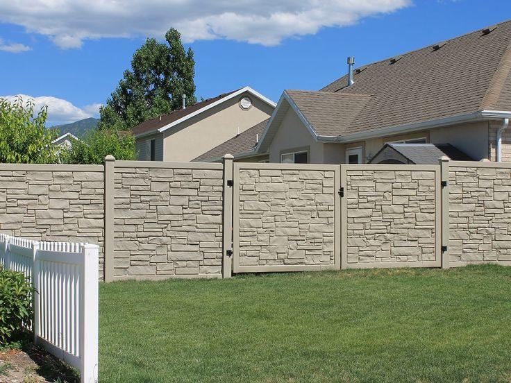 composite fencing steps hill - Composite Fencing