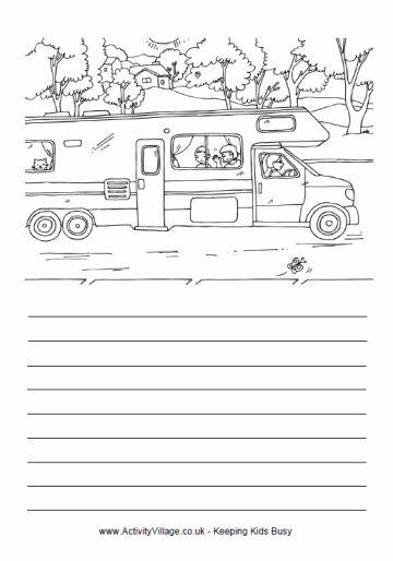 Campervan story paper