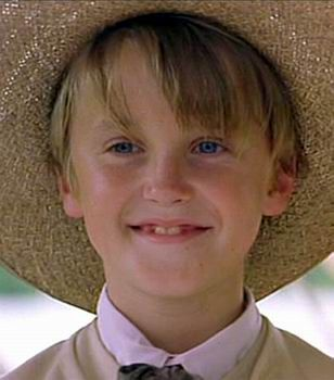 Young Tom Felton -From Anna and the King I was smiling the everytime time I saw him!