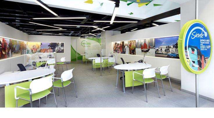 Travel agency interior google zoeken traveling for Interior design travel agency
