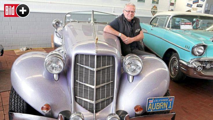 *** BILDplus Inhalt *** Oldtimer aus Kult-Serie - Auto von Remington Steele zu verkaufen