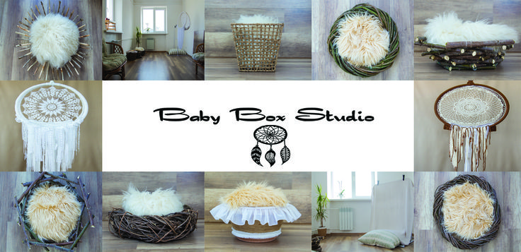#babyboxstudio - homely atmosphere, creative and professional staff and handmade props are waiting for you at our Babyboxstudio 💋#newborn_photography #dream_catchet #детский_фотограф #фотосессия_киев +380681162906