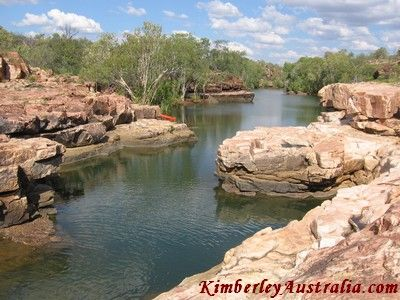 Charnley River Station covers some great country with several gorges and swimming holes. The best of them are...