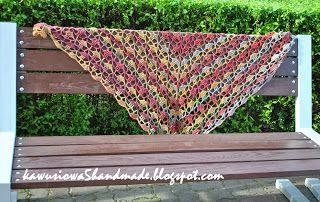 chusta  crochet shawl
